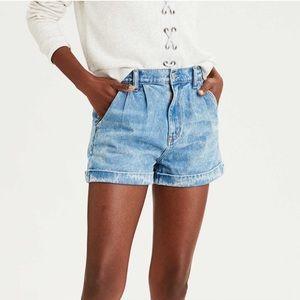 AEO Mom Jean Shorts